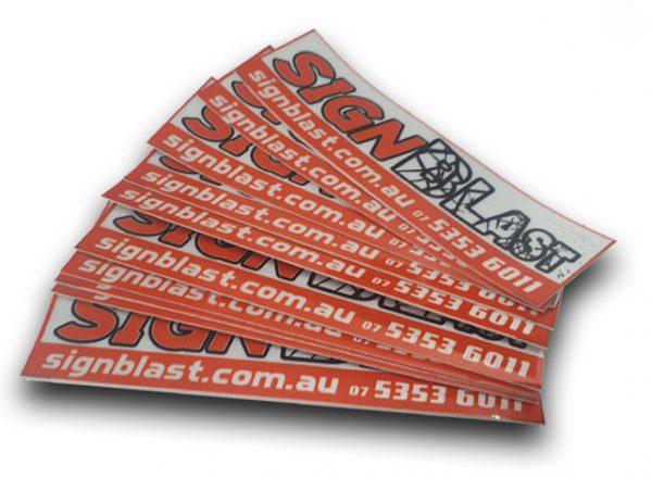 vinyl sticker designed and created by graphic design studio online at sign shop Brisbane Queensland Australia