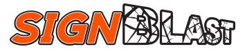 logo designed by logo design online at sign shop Brisbane Queensland Australia