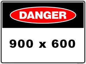 Danger Sign created by graphic design studio online at sign shop Brisbane Queensland Australia